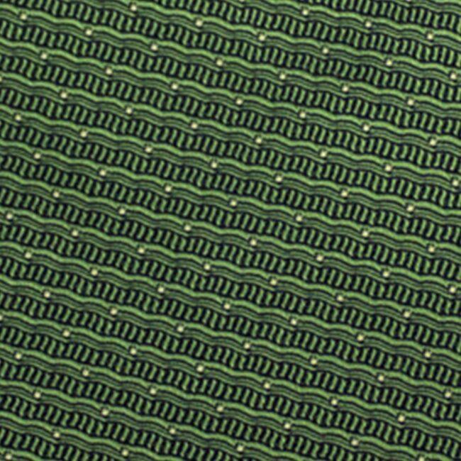 wellen gruen - Krawatte grüne Wellen