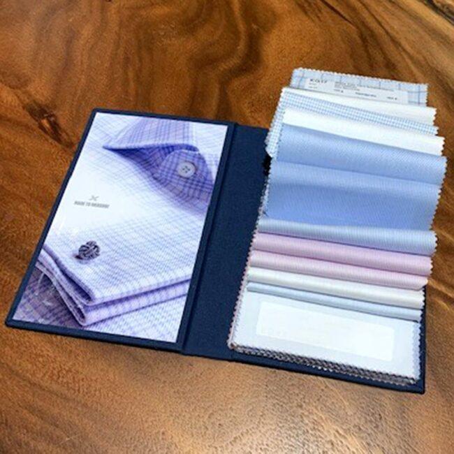 BusinessShirtings4 | Businesshemd Stoffmuster zu Ihnen nach Hause