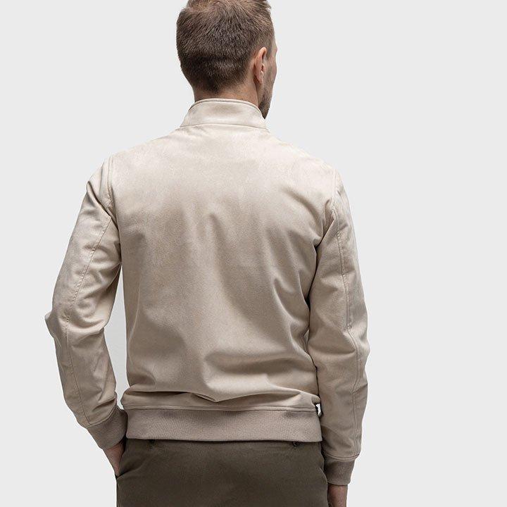 Blouson in der Rückenansicht