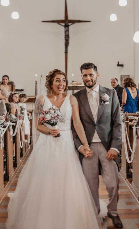 Hochzeit im Cutaway
